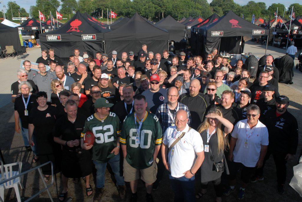 Deltagerene ved DM i Grill 2017 - vi er næsten som én stor familie efter sådan en weekend.